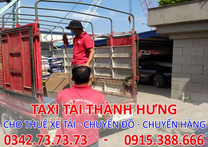 Dịch vụ cho thuê xe tải thái bình đi Tp. HCM giá rẻ