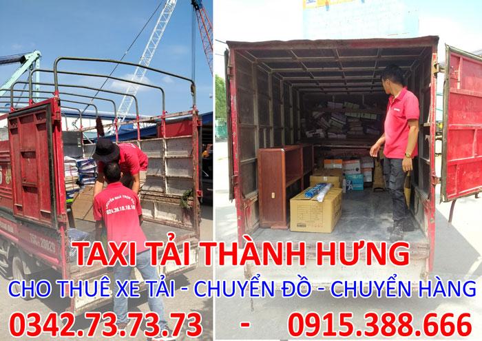 Dịch vụ cho thuê xe tải thái bình đi Tp. HCM