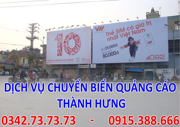 Dịch vụ chuyển biển quảng cáo