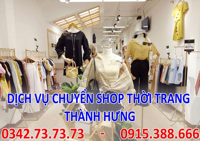 Dịch vụ chuyển cửa hàng shop thời trang tại Hà Nội