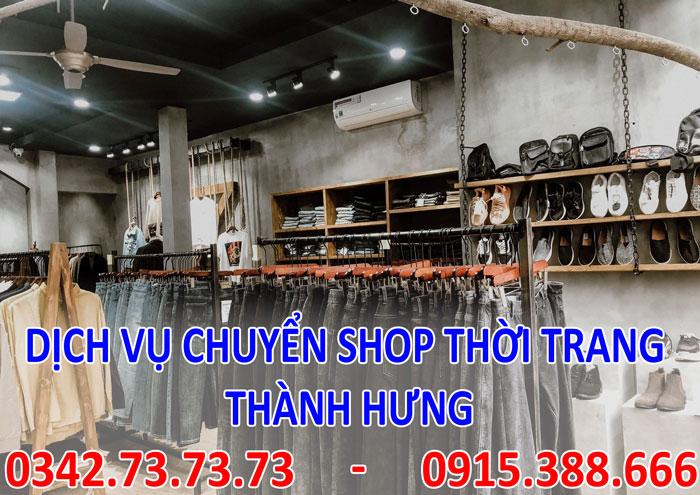 Dịch vụ chuyển cửa hàng shop thời trang
