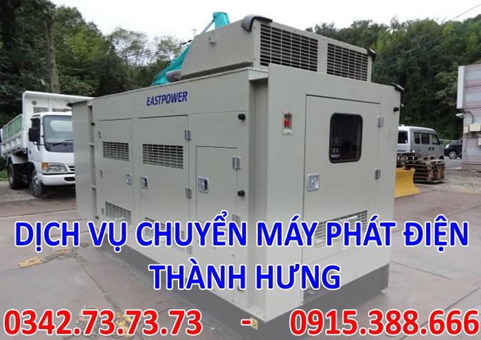 Dịch vụ chuyển máy phát điện tại Hà Nội
