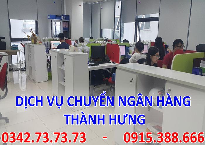 Dịch vụ chuyển ngân hàng tại Hà Nội