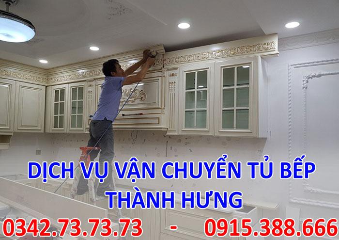 Dịch vụ chuyển tủ bếp tại Hà Nội giá rẻ