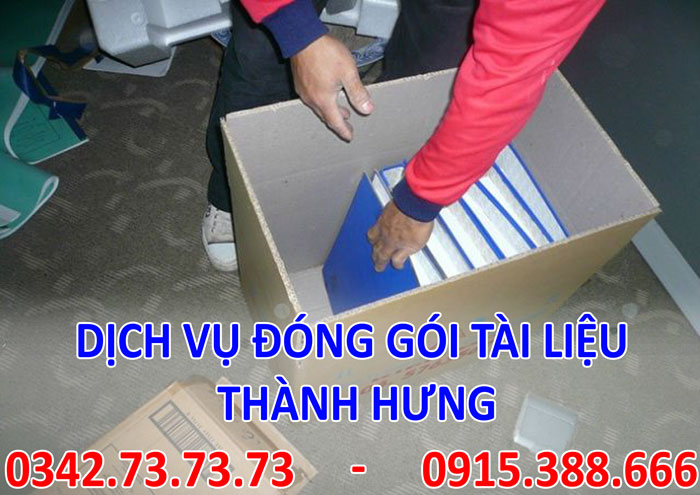Dịch vụ đóng gói tài liệu giá rẻ tại Hà Nội