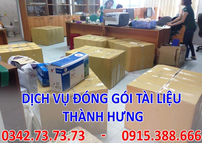 Dịch vụ đóng gói tài liệu giá rẻ