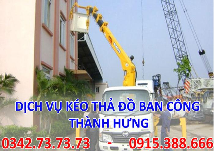 Dịch vụ kéo đồ ban công tại Hà Nội giá rẻ