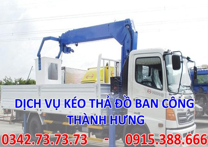 Dịch vụ kéo đồ ban công tại Hà Nội