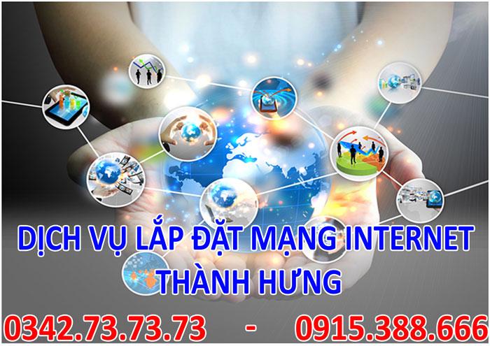 Dịch vụ lắp đặt mạng INTERNET