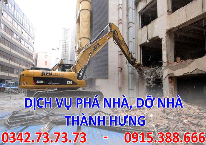 Dịch vụ phá nhà, dỡ nhà tại Hà Nội giá rẻ
