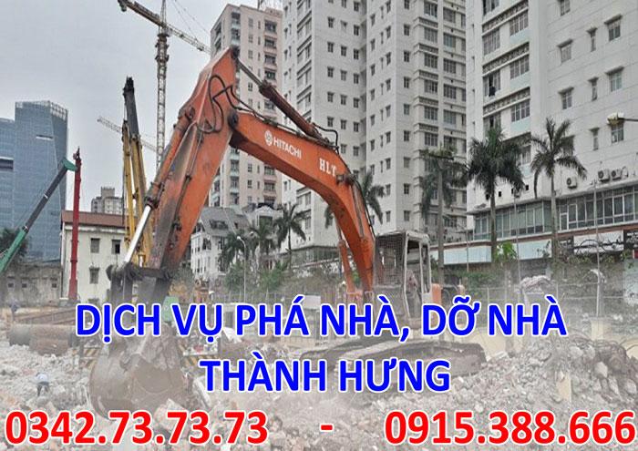 Dịch vụ phá nhà, dỡ nhà tại Hà Nội