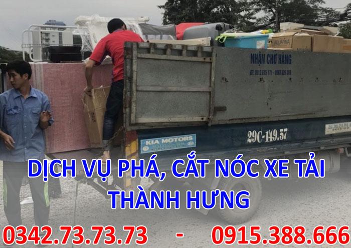 Dịch vụ phá thùng hàng tại Hà Nội giá rẻ