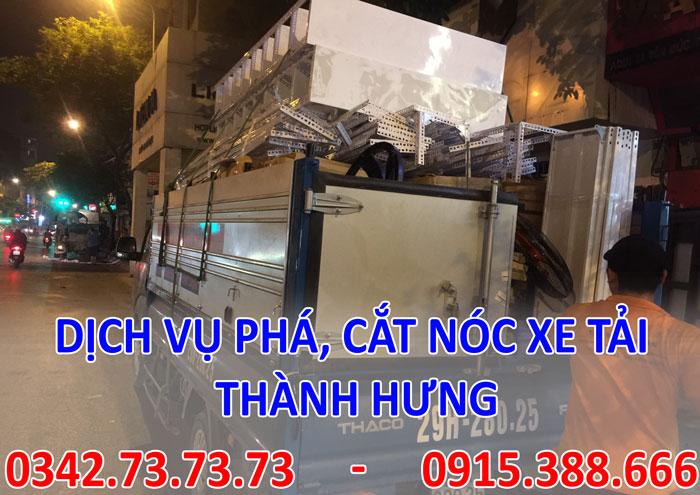 Dịch vụ phá thùng hàng tại Hà Nội