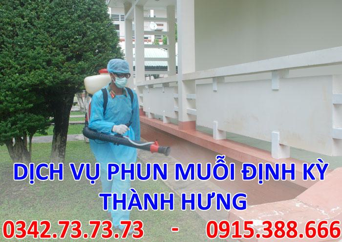 Dịch vụ phun muỗi định kỳ tại Hà Nội giá rẻ
