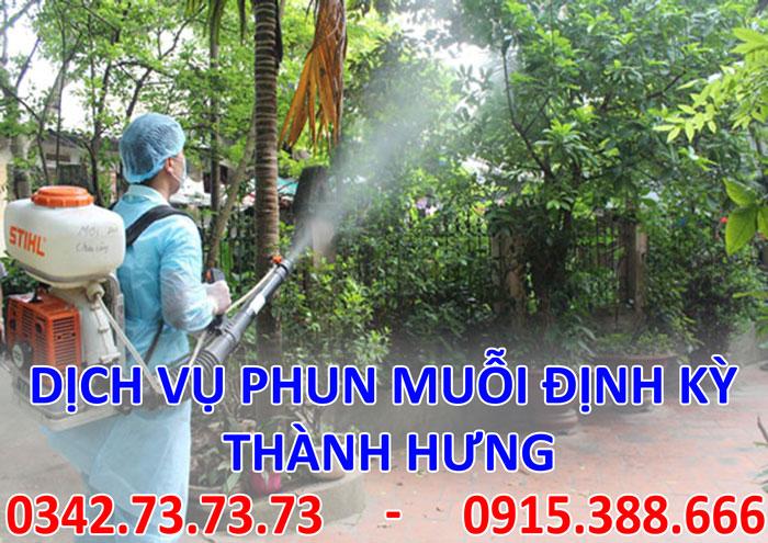 Dịch vụ phun muỗi định kỳ tại Hà Nội