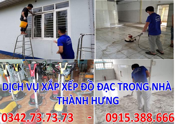 Dịch vụ xắp xếp dọn dẹp nhà cửa tại Hà Nội giá rẻ