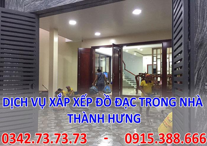 Dịch vụ xắp xếp dọn dẹp nhà cửa tại Hà Nội