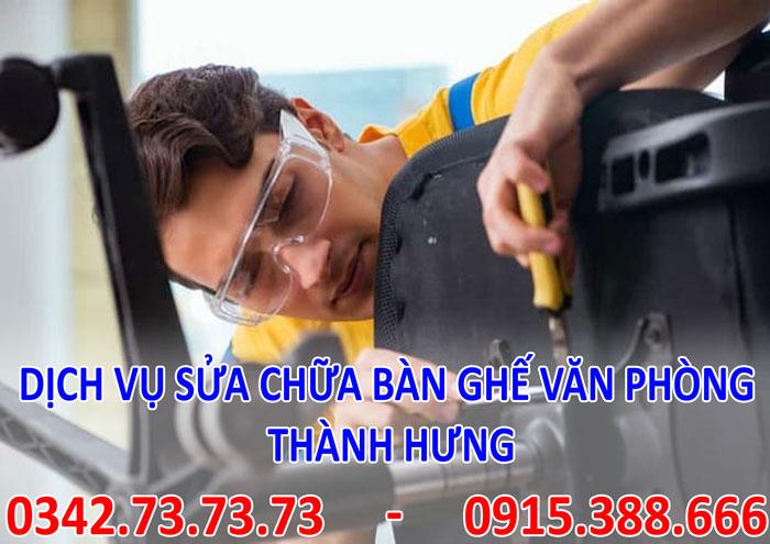 Dịch vụ sửa chữa bàn ghế văn phòng tại Hà Nội giá rẻ