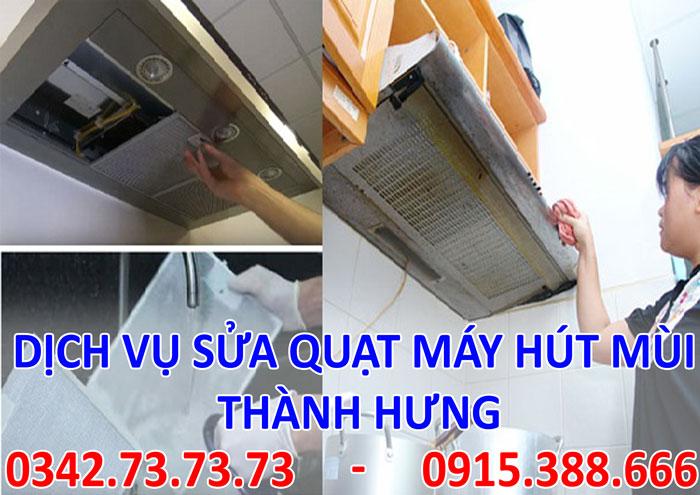 Dịch vụ sửa quạt hút mùi tại Hà Nội giá rẻ