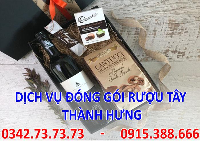 Dịch vụ vận chuyển đóng gói rượu tây tại Hà Nội