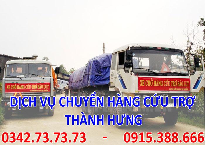 Dịch vụ vận chuyển hàng cứu trợ an toàn