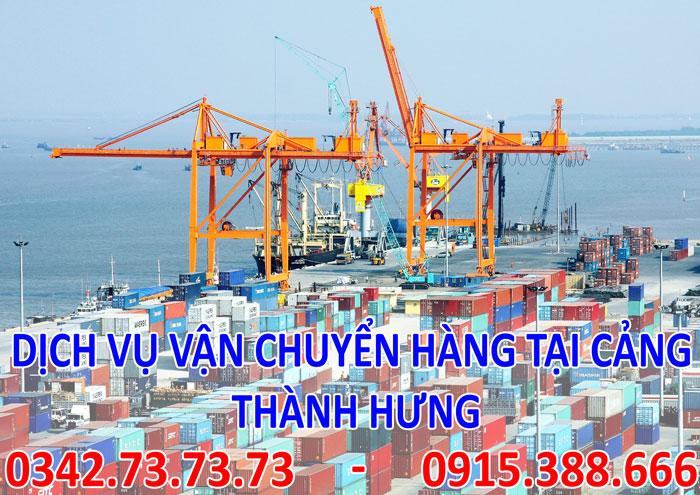Dịch vụ vận chuyển hàng tại cảng tại Hà Nội giá rẻ