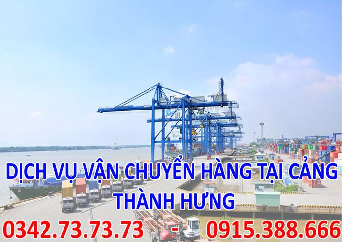 Dịch vụ vận chuyển hàng tại cảng tại Hà Nội