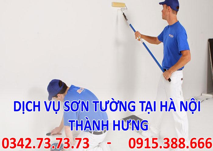 Tìm sợ sơn tường tại Hà Nội giá rẻ