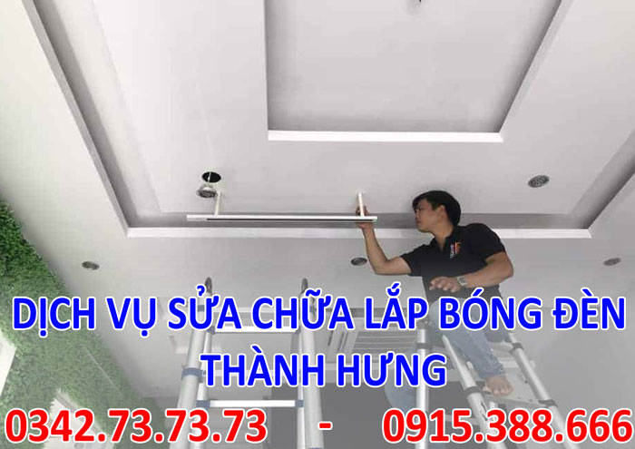 Tìm thợ sửa bòng đèn tại Hà Nội giá rẻ