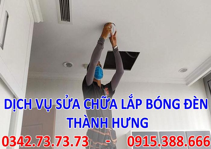 Tìm thợ sửa bòng đèn tại Hà Nội