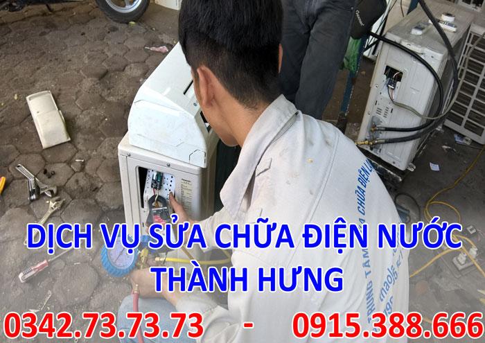 Tìm thợ sửa điều hòa nóng lạnh uy tín tại Hà Nội