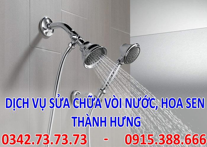 tìm thợ sửa vòi nước, vòi sen tại Hà Nội