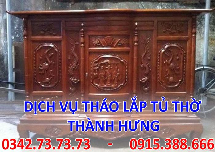 Tìm thợ tháo tủ thờ tại Hà Nội