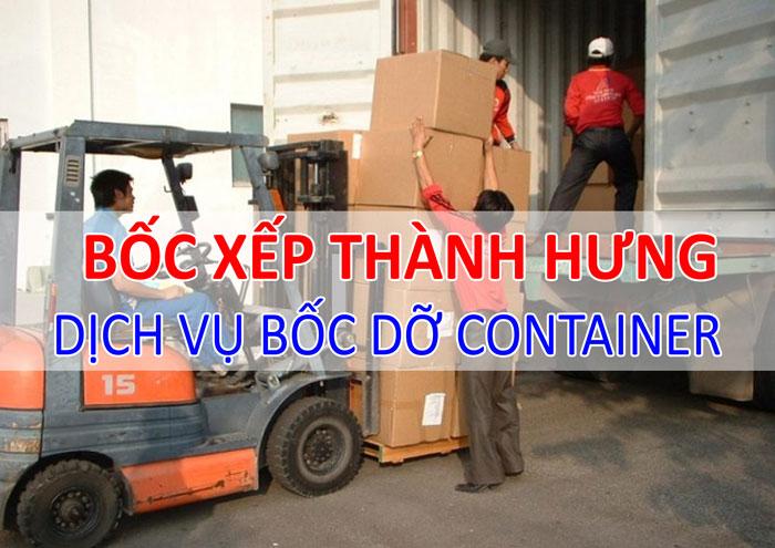 Dịch vụ bốc dỡ container  Thành Hưng tại Hà Nội