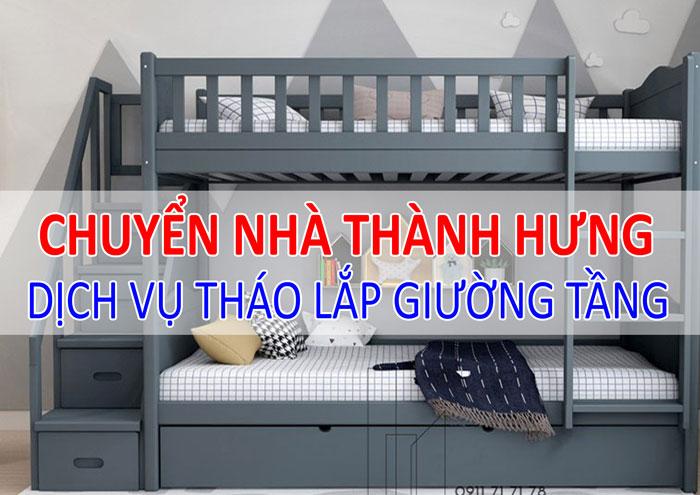 Dịch vụ tháo lắp giường tầng tại Hà Nội