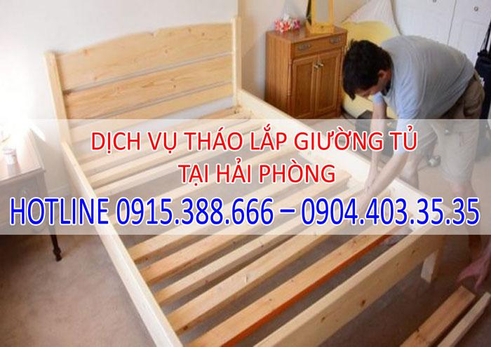 Dịch vụ tháo lắp giường tủ tại Hải Phòng giá rẻ