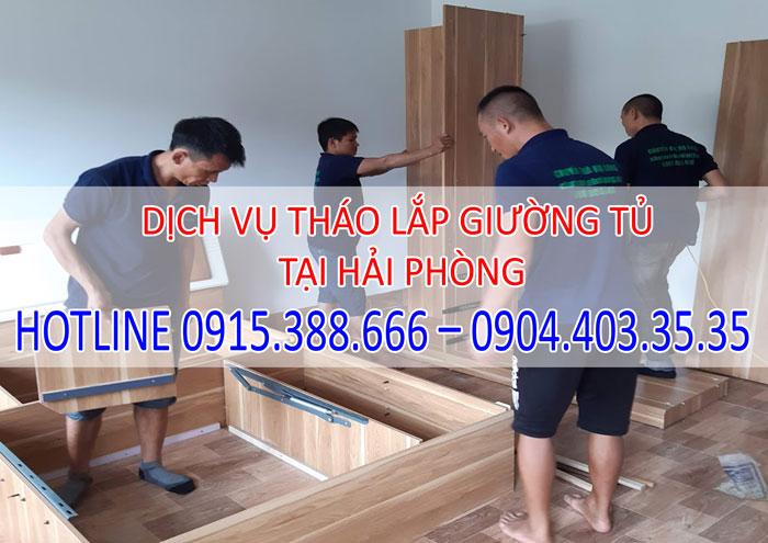 Dịch vụ tháo lắp giường tủ tại Hải Phòng