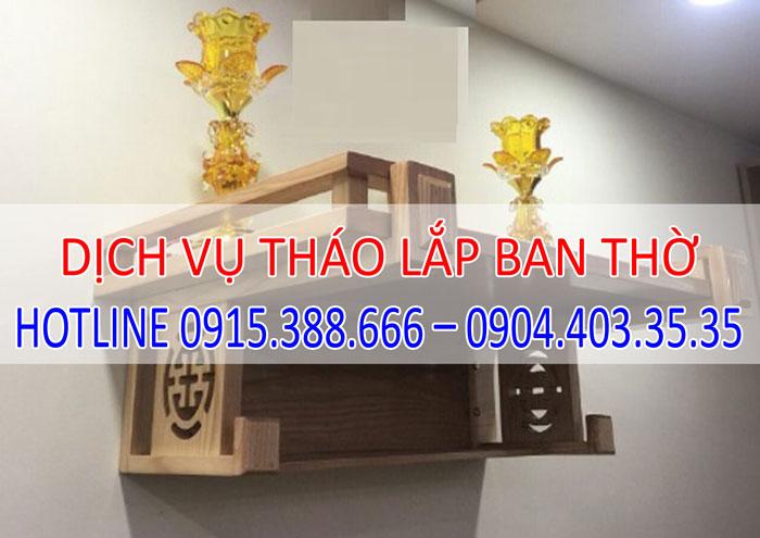dịch vụ tháo lắp vận chuyển ban thờ tại Hà Nội