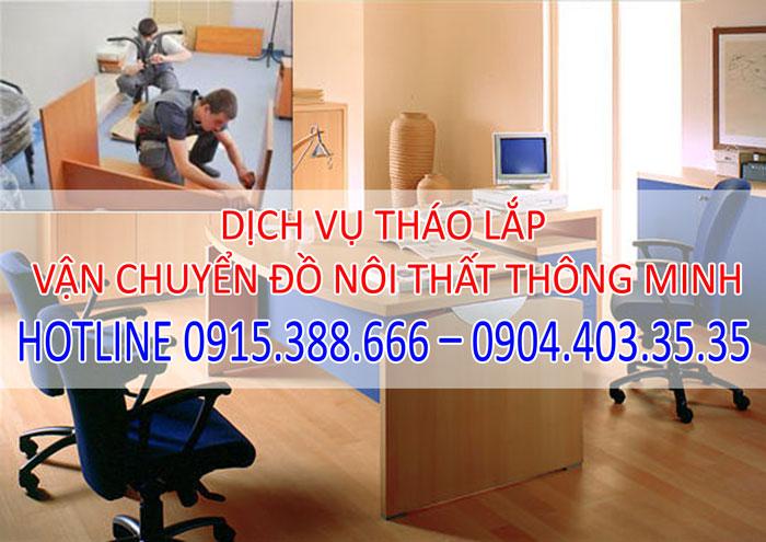 Dịch vụ tháo lắp vận chuyển nội thất thông minh tại Hà Nội
