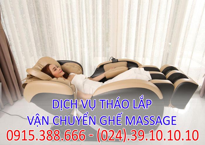 Dịch vụ tháo lắp vận chuyển ghế massage