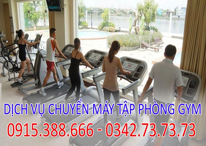 Dịch vụ tháo lắp vận chuyển máy chạy bộ phòng gym tại Hà Nội