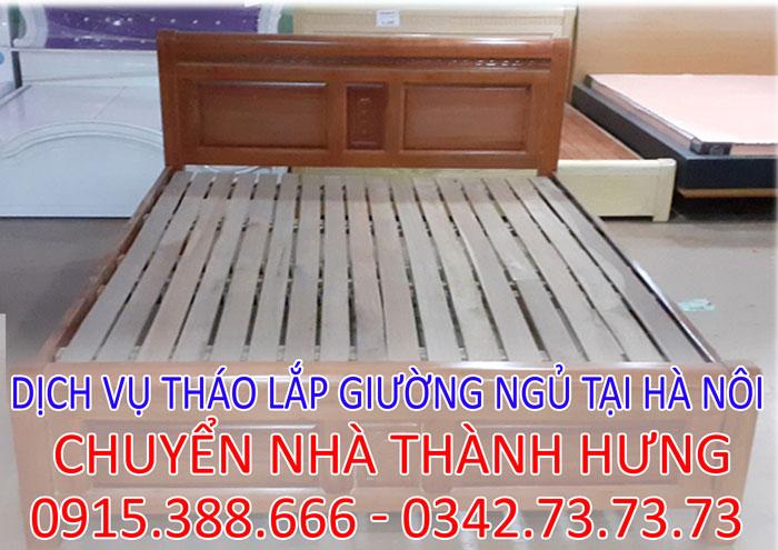 Dịch vụ tháo lắp giường tủ tại nhà Hà Nội giá rẻ