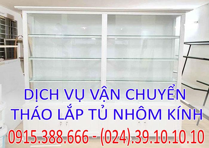 Dịch vụ tháo lắp tủ nhôm kính tại Hà Nội chuyên nghiệp