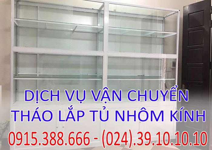 Dịch vụ tháo lắp tủ nhôm kính tại Hà Nội