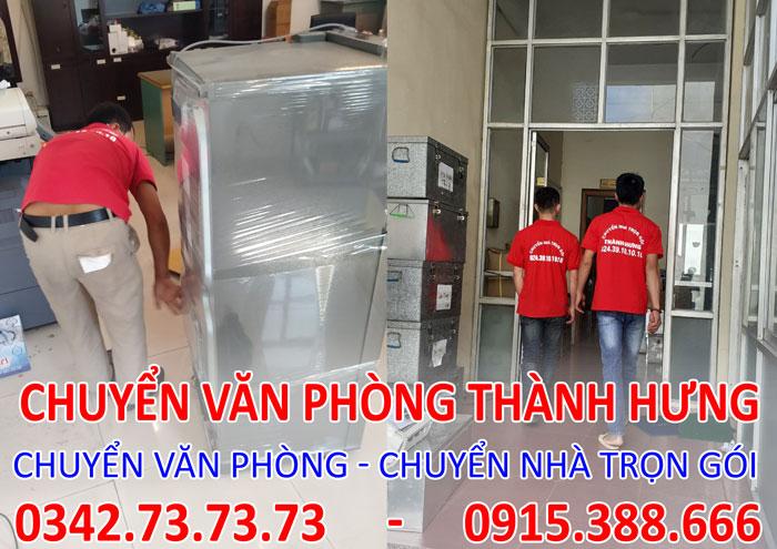 Dịch vụ chuyển văn phòng trọn gói tại chung cư 125D Minh Khai
