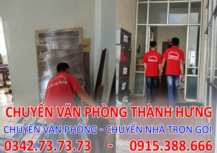Dịch vụ chuyển văn phòng trọn gói tại Chung cư Minh Khai City Plaza