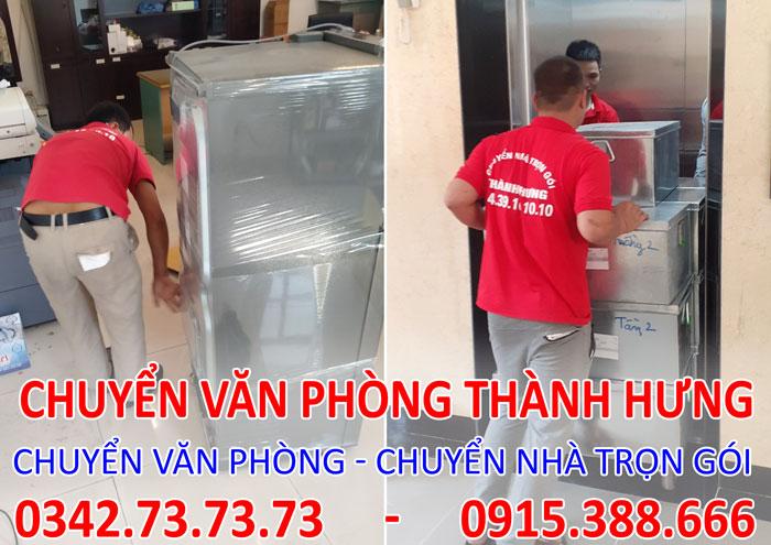 Dịch vụ chuyển văn phòng trọn gói tại Chung cư Park Hill Times City.