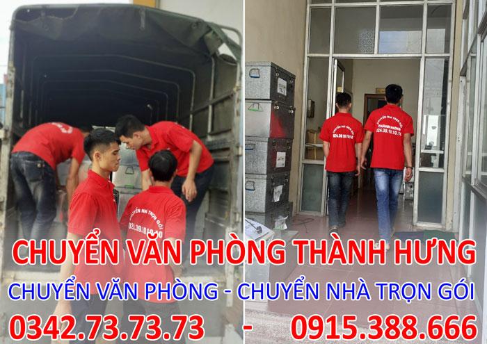 Dịch vụ chuyển văn phòng trọn gói tại Chung cư Sun Grand City