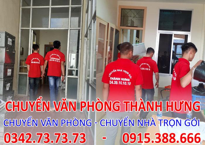 Dịch vụ chuyển văn phòng trọn gói tại Khu đô thị Royal City