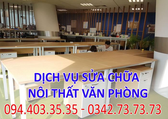Dịch vụ sửa chữa nội thất văn phòng tại Hà Nội